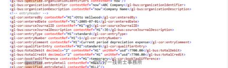 世界標準データ形式の実装検証 5(XBRL2.1タプルを使わないとき)[試行中]
